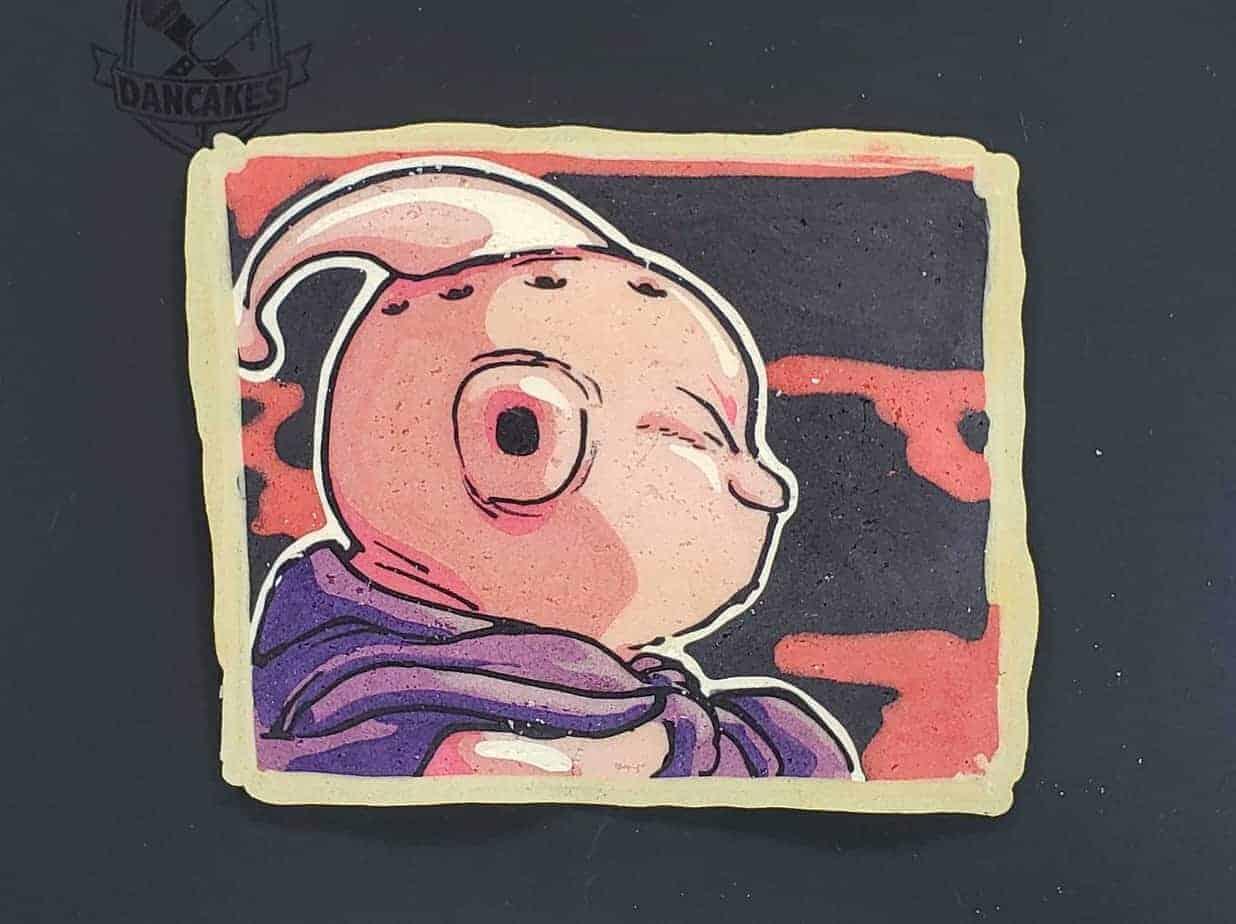 Buu Dragon Ball Z Pancake Art