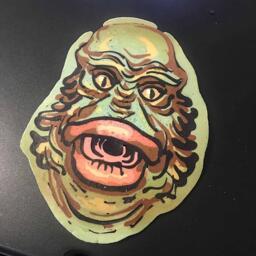 Creature from the Black Lagoon Pancake Art