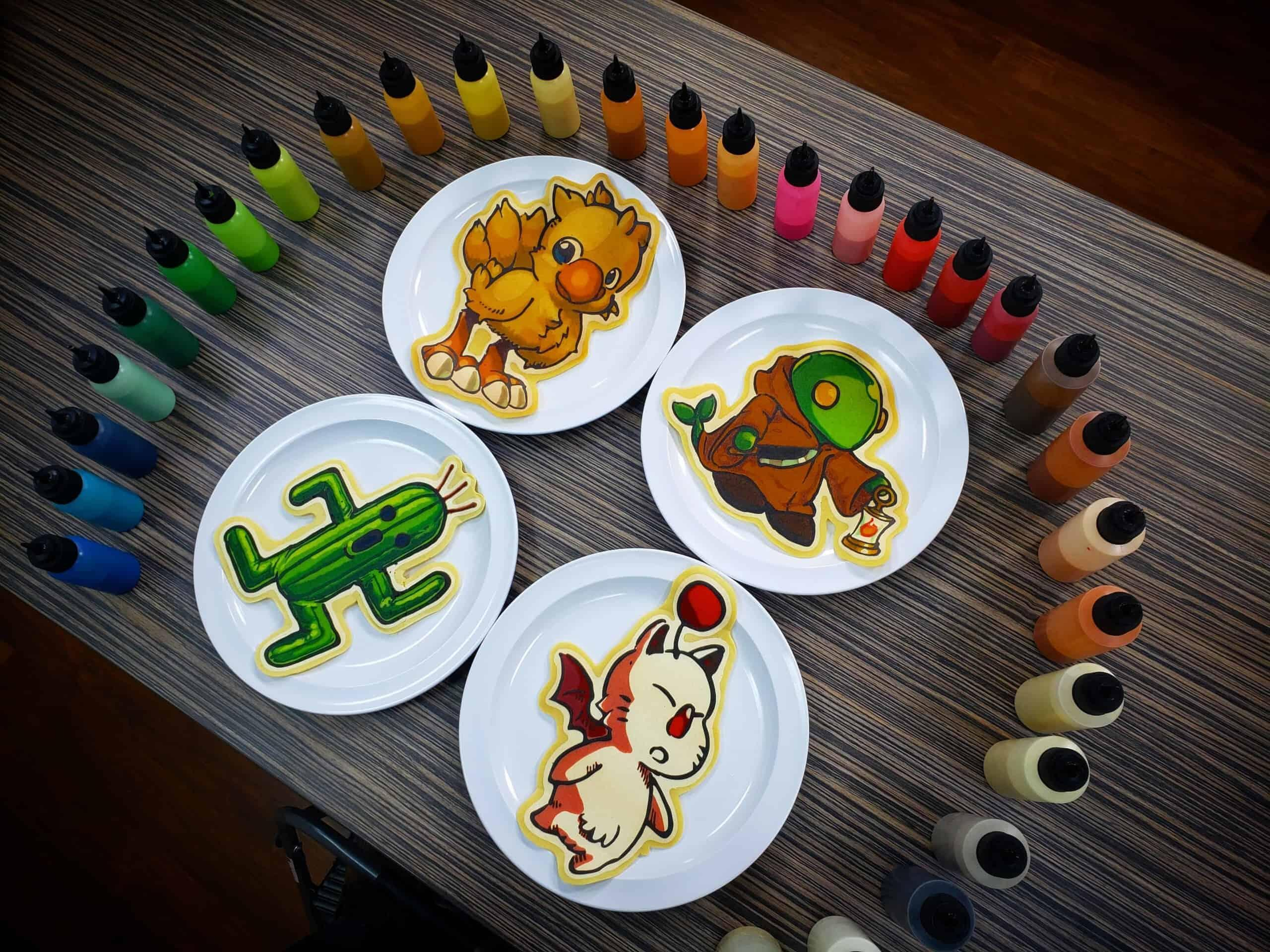 Final Fantasy Pancake Art