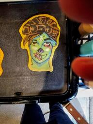 Ghoul Trooper - Fortnite Pancake Art