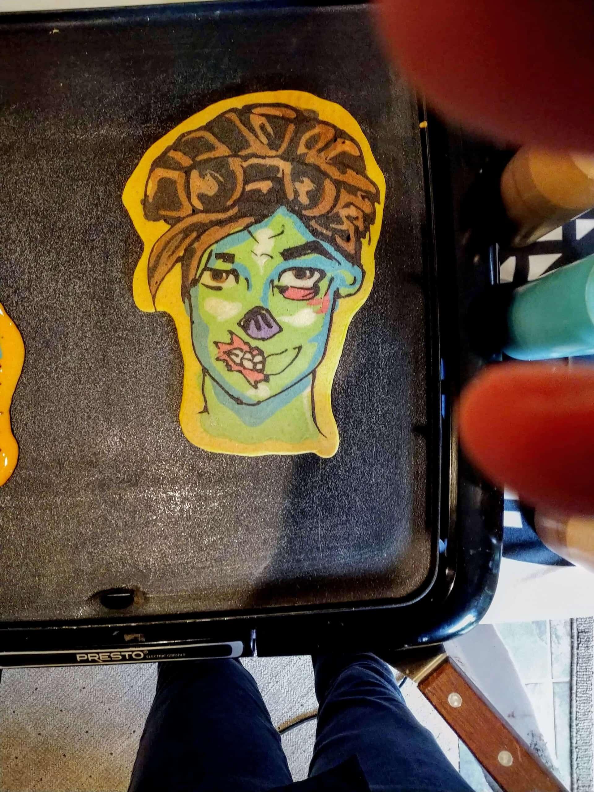 Ghoul Trooper - Fortnite Pancake Art