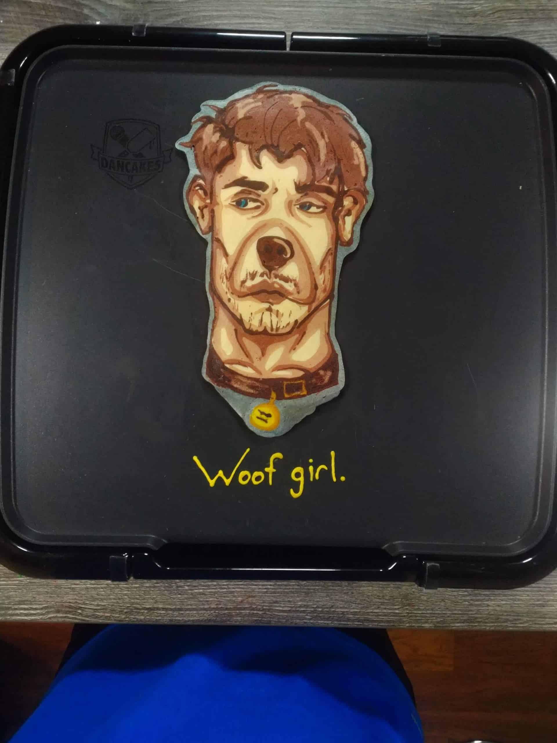 Hot Dog Pancake Art