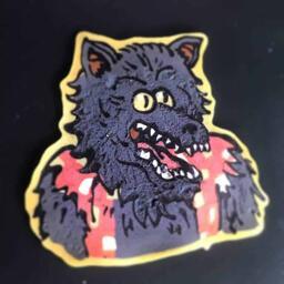 Regular Show Werewolf Pancake Art