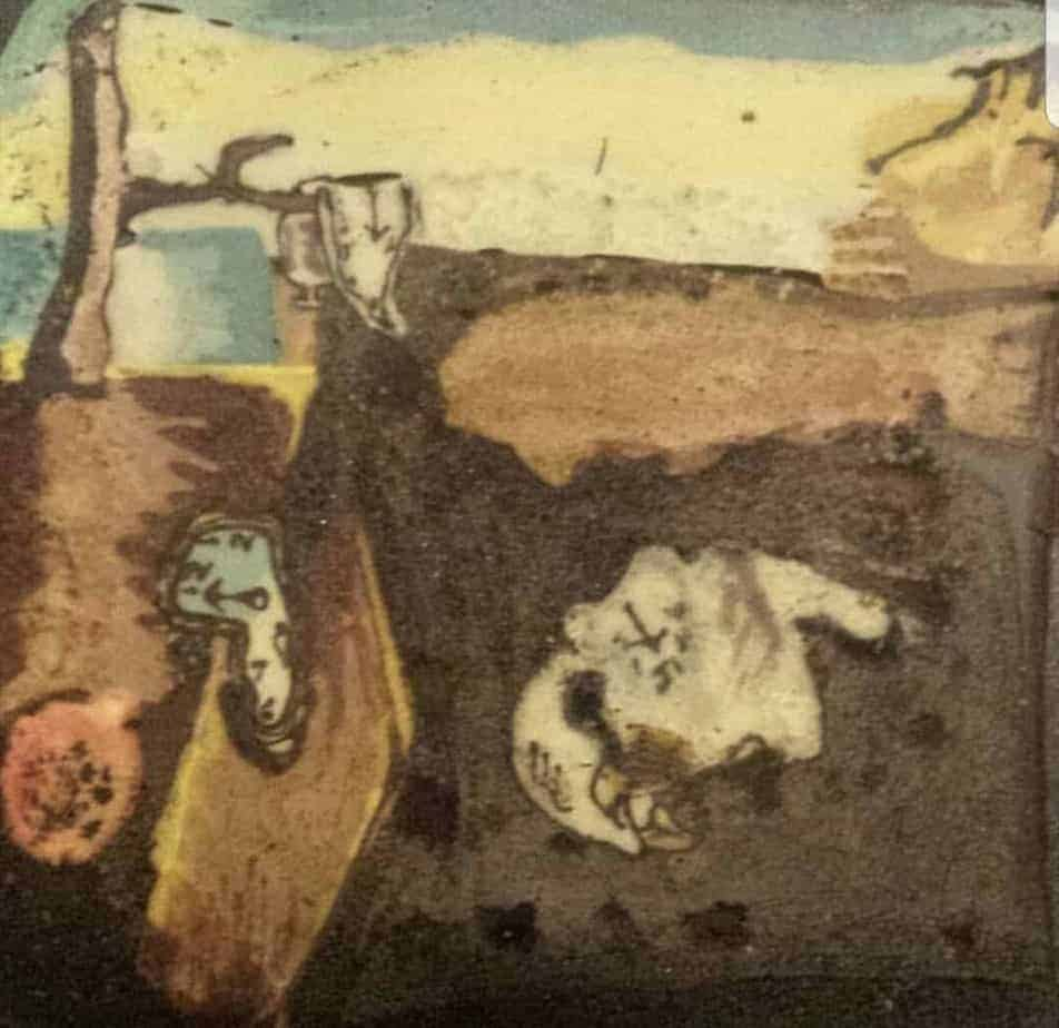 Salvador Dali persistence of memory
