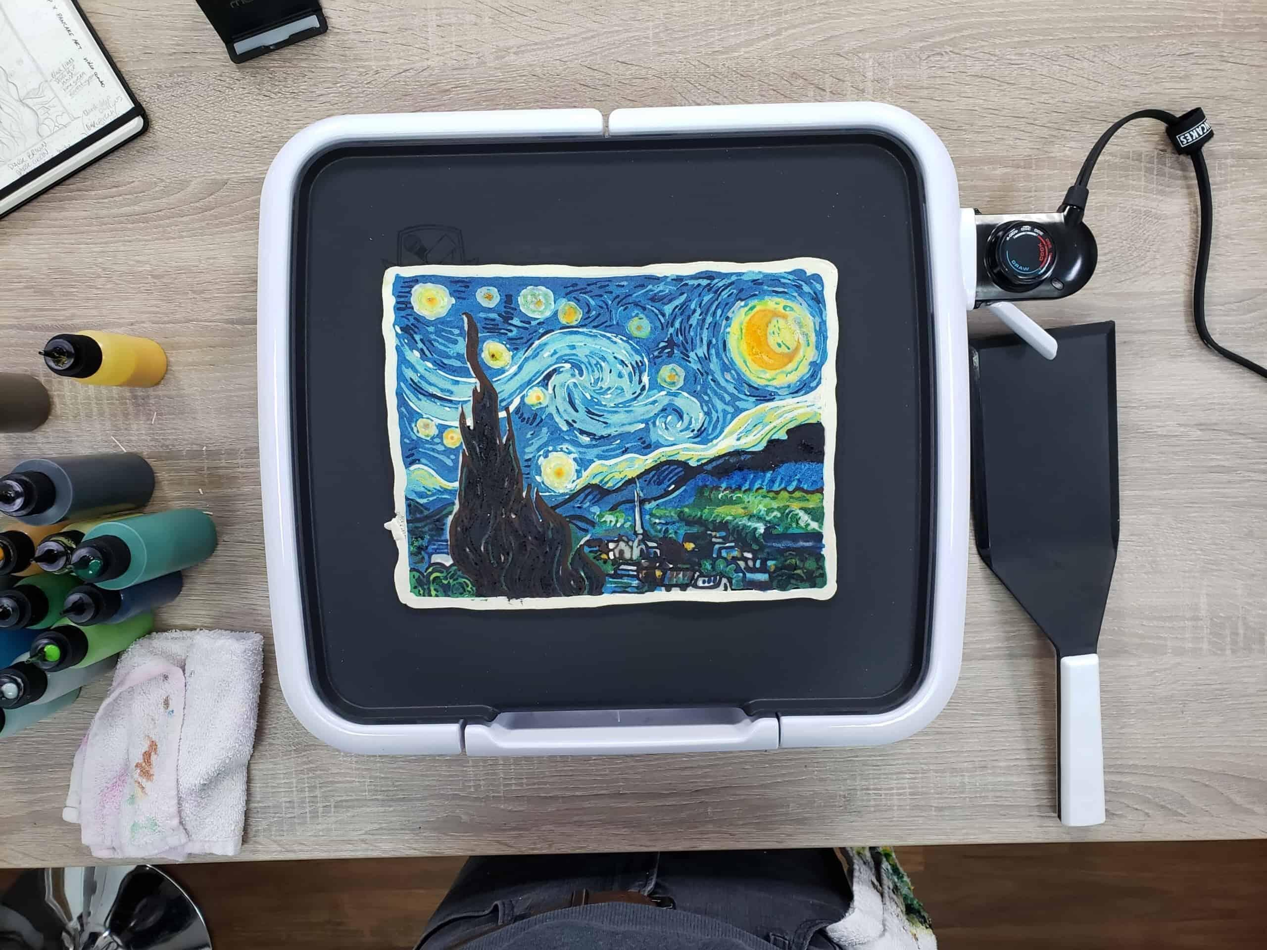Starry Night - Van Gogh Pancake Art