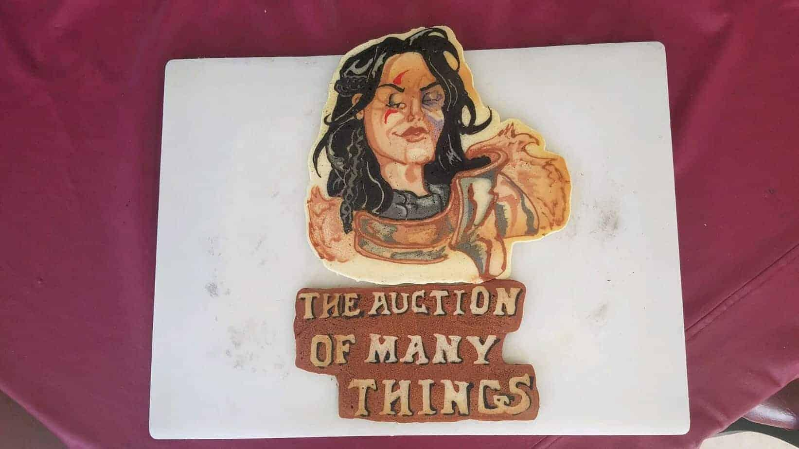 The Auction of Many Things