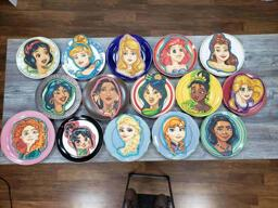All 15 Disney Princesses Pancake Art