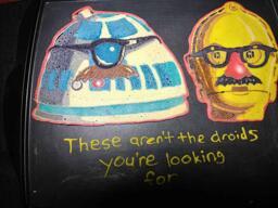 C3PO R2D2 - Star Wars Pancake Art