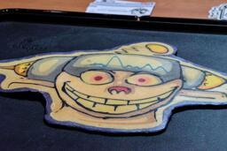 Ren - Ren and Stimpy Pancake Art