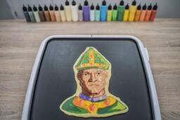 St. Patrick Stewart Pancake Art