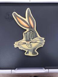 Warner Bros Bugs Bunny Pancake Art
