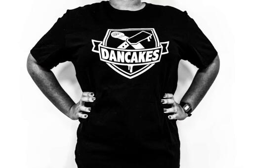 Dancakes Logo T-Shirt - Black