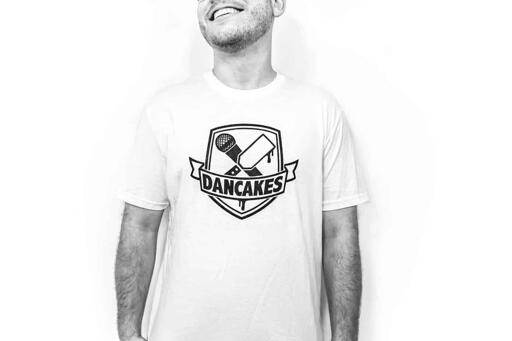 Dancakes Logo T-Shirt - White