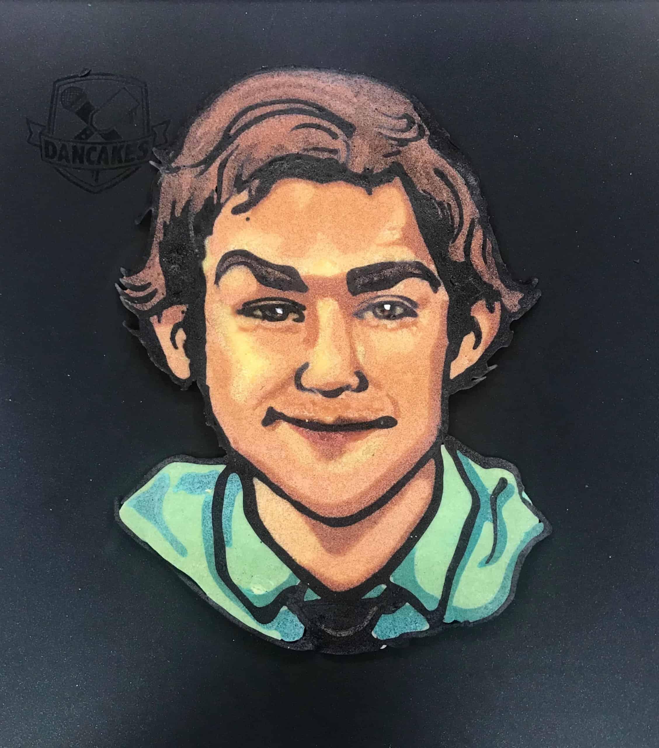 Jim Halpert - The Office Pancake Art