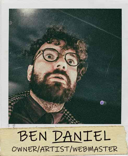 Ben Daniel - Owner/Pancake Artist/Webmaster of Dancakes
