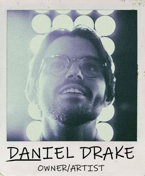 Daniel Drake - Owner/Pancake Artist of Dancakes