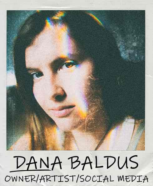 Dana Baldus - Owner/Pancake Artist of Dancakes