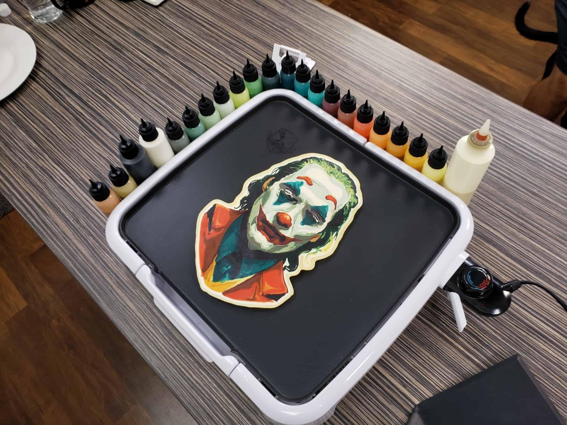 Joaquin Phoenix - Joker Pancake Art