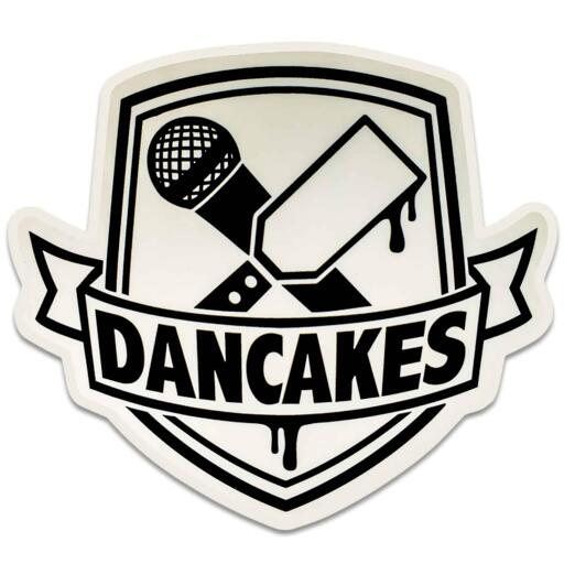 Dancakes Logo Sticker