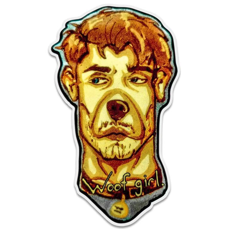 Hot Dog Sticker - Ben