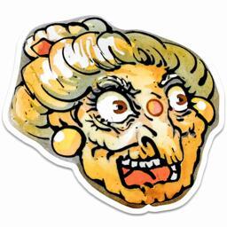 Yubaba Sticker - Jenny