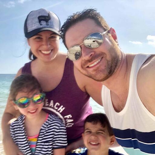 Ryan Lewin Family Photograph