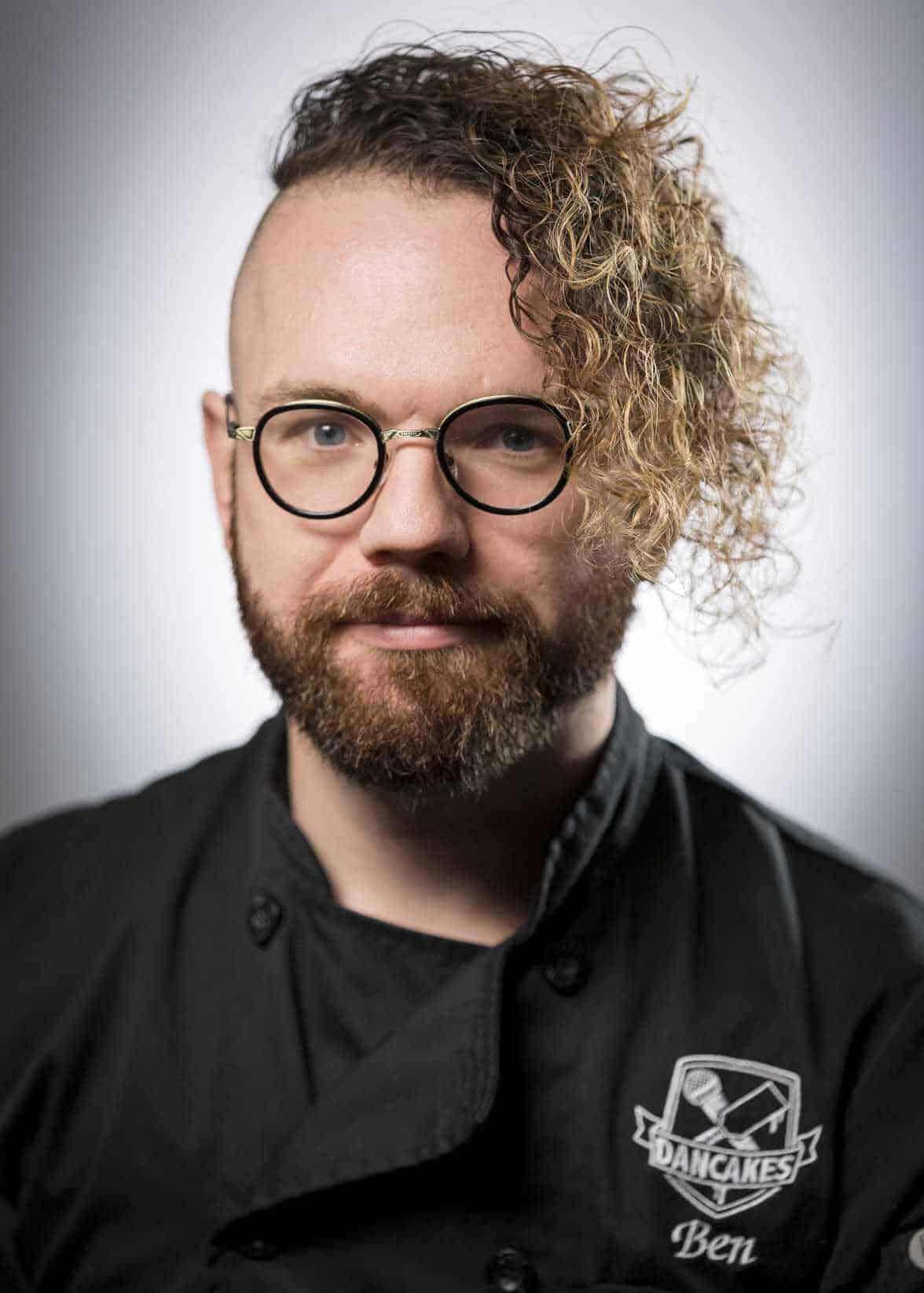 Pancake Artist Ben Daniel Headshot