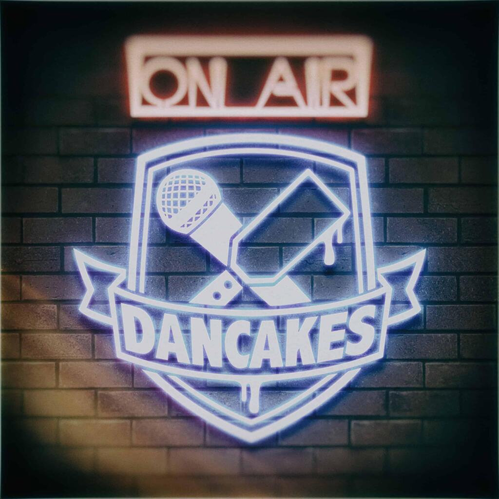 Dancakes On Air Neon Sign
