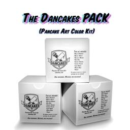 The Dancakes PACK (Pancake Art Color Kit) - 3 boxes