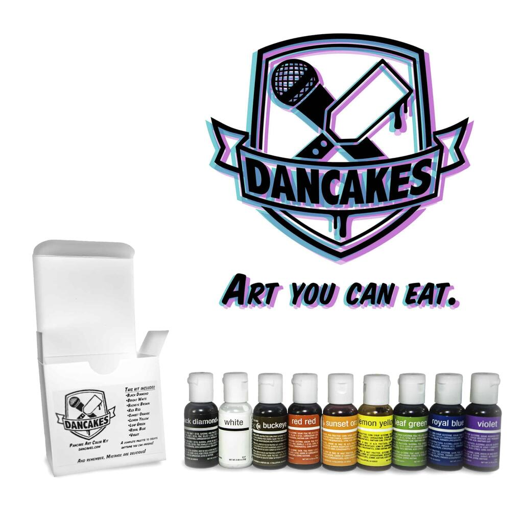 The Dancakes PACK (Pancake Art Color Kit)