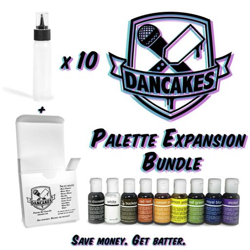 The Dancakes Palette Expansion Bundle - Save Money. Get Batter.