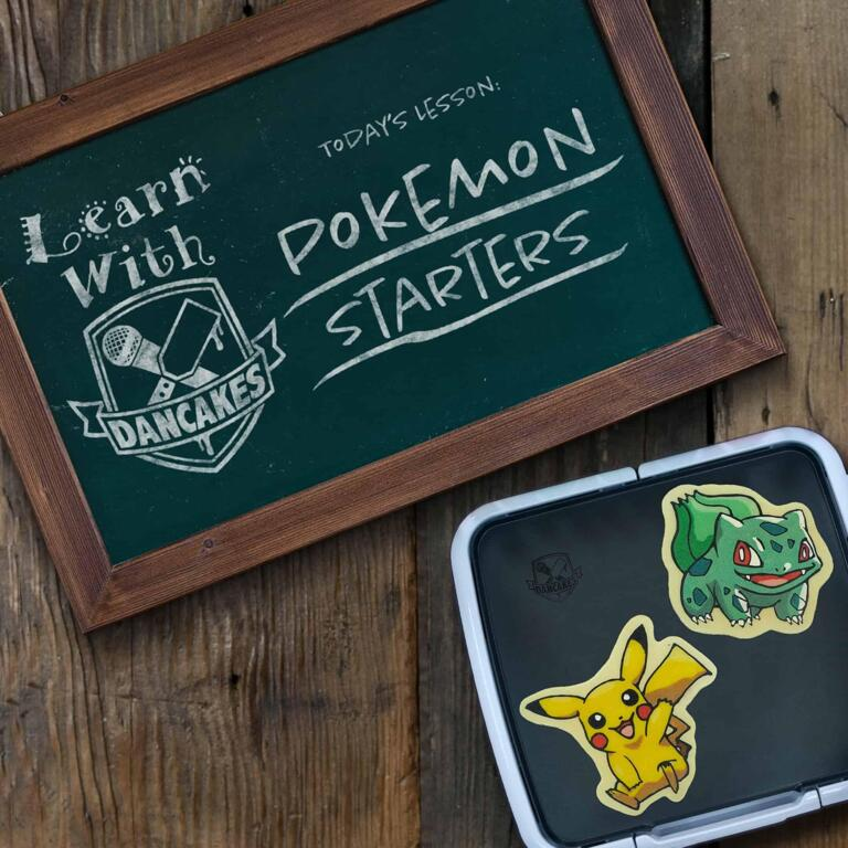 Dancakes Classes - Pokemon Starters