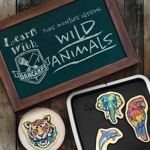 Dancakes Classes - Wild Animals