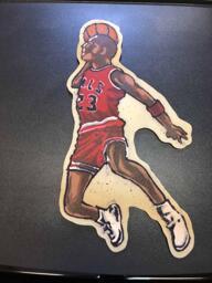 Michael Jordan pancake art
