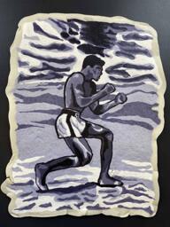 Muhammad Ali pancake art
