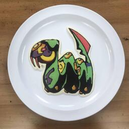 Seviper pokemon pancake art