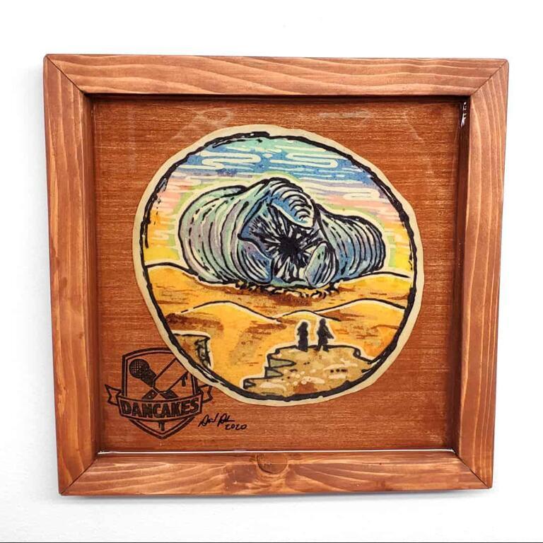 Dune Preserved Pancake Art
