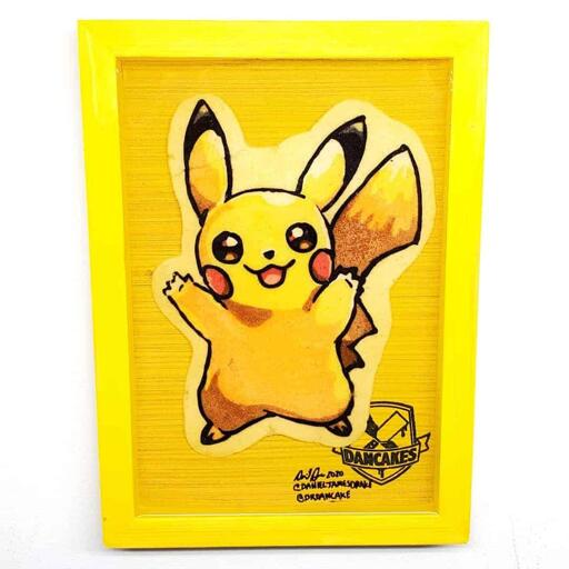 Pokemon Pikachu Preserved Pancake Art