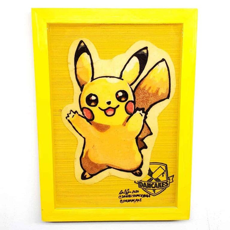 Pokemon Pikachu Preserved Pancake Art