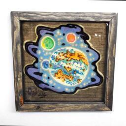 Venusian Vibe Preserved Pancake Art