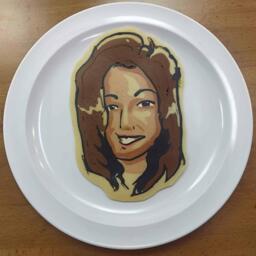 Your Face as Pancake Art