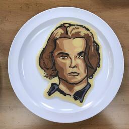 Pancake art of Jasper Cullen (Eclipse)