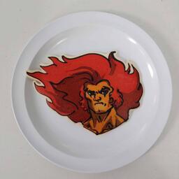 Lion-O Thundercats Pancake Art