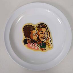 MarziaPie and PewDiePie Pancake Art
