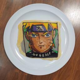 Pancake art of Naruto