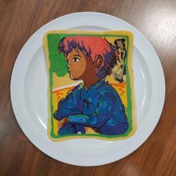 Pancake art of nausicaä