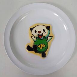 Oshawott Pokemon Pancake Art