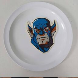 Panthro Thundercats Pancake Art