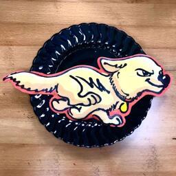 Bolt Pancake Art