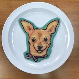 Chihuahua Pancake Art